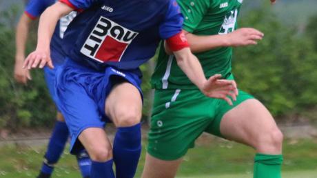 Endrit Imeri (rechts) war an zwei TSV-Toren beteiligt.