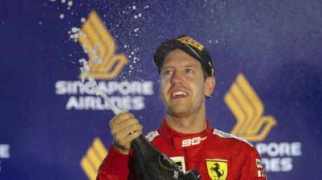 Will einen versöhnlichen Saisoabschluss in Abu Dhabi: Ferrari-Pilot Sebastian Vettel.