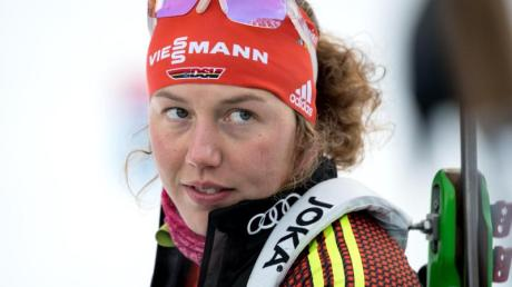 Sie hinterlässt beim DSV ein großes Erbe: Biathlon-Star Laura Dahlmeier.