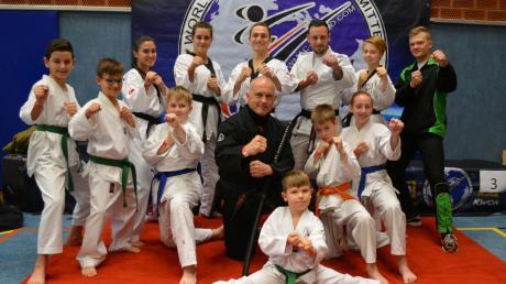 """Mit guten Ergebnissen kehrten die Taekwondo-Kämpfer des TSV Schwabmünchen und des SV Untermeitingen von den """"Bregenz-Open"""" zurück."""