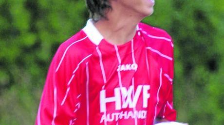 Einer von 24 Torschützen beim FC Maihingen II: Dominik Klaus (insgesamt drei Treffer).