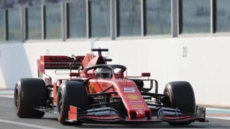 Sebastian Vettel geht in Abu Dhabi von Platz vier ins Rennen.
