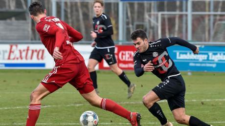 Eine starke kämpferische Leistung zeigte der TSV Landsberg im Heimspiel gegen den TSV Kottern und ließ nur sehr wenige Chancen der Gäste zu.