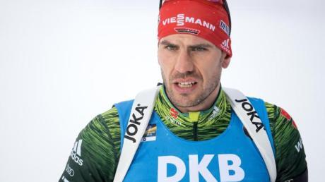 Biathlet Arnd Peiffer ist wieder fit für den Einzelstart im Weltcup.