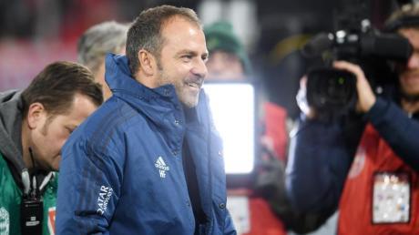 Hansi Flick geht mit seiner Situation als Trainer des FC Bayern München weiter entspannt um.