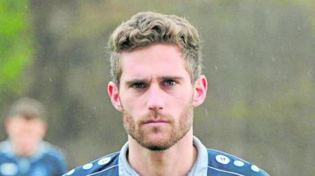 Maximilian Löw traf - doch der Treffer für den TSV Schwaben wurde nicht anerkannt.