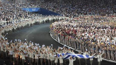 Griechenland wird traditionell auch weiter als erste Olympia-Mannschaft einmarschieren.