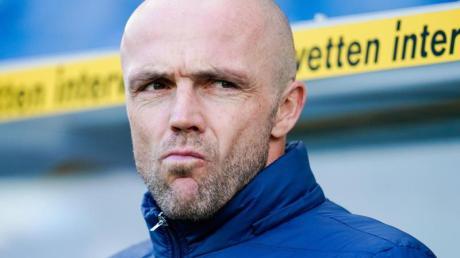Alfred Schreuder ist seit Saisonbeginn Trainer bei 1899 Hoffenheim.