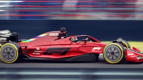 Mit dieser Studie zeigt der Automobilverband, wie die Formel-1-Autos 2021 aussehen sollen. Sie werden deutlich schwerer und damit langsamer sein. Allerdings soll das Überholen mit diesen Fahrzeugen erleichtert werden.
