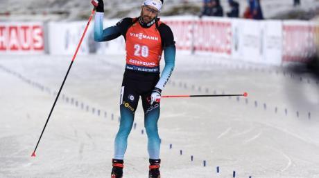 Sieger über 20 Kilometer: Der Franzose Martin Fourcade.