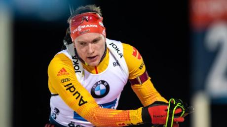 Nicht zufrieden mit dem Weltcup-Auftakt: Benedikt Doll.