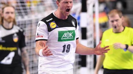 Fällt für die Handball-EM aus: Martin Strobel.