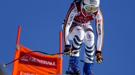 Neben Viktoria Rebensburg liegt der deutsche Fokus bei der Damen-Abfahrt in Lake Louise auf Kira Weidle.