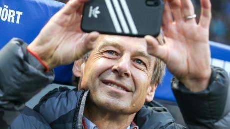 Hat eine Vision: Hertha-Coach Jürgen Klinsmann.