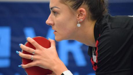 Vitaljia Venckute und die Tischtennis-Frauen des TTC Langweid sind für das wichtige Spiel beim Tabellenschlusslicht NSU Neckarsulm bereit.