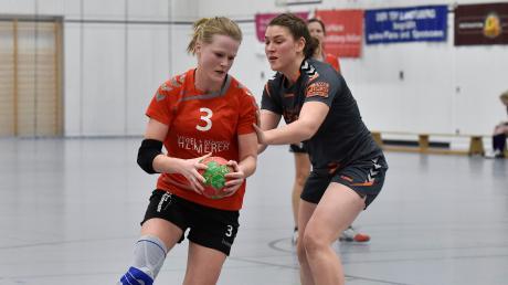 Lena Hierstetter (links) erzielte gegen Weilheim wichtige Tore.