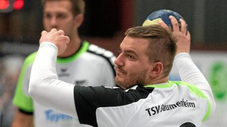 Stark angefangen und stark nachgelassen – der TSV Bäumenheim (mit Matthias Klement) brach in der zweiten Halbzeit gegen Haunstetten ein und verlor.
