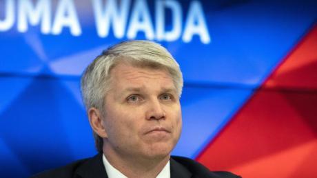 Skeptischer Blick: Russlands Sportminister Pawel Kolobkow nach dem Wada-Urteil.