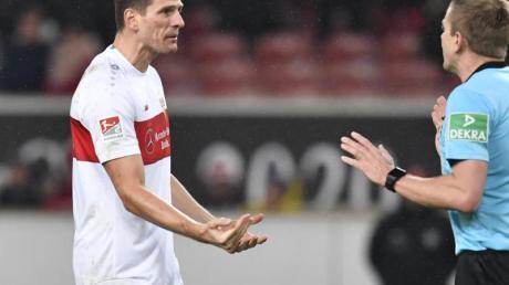 Mario Gomez traf wieder für den VfB Stuttgart.