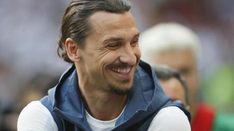 Könnte demnächste im Trikot des AC Mailand spielen:Zlatan Ibrahimovic.