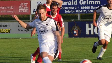 Hört zum Saisonende auf: Mathias Heckel wird dem TSV Burgheim nur noch bis Sommer 2020 als Spielertrainer zur Verfügung stehen.