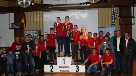 Der Sieger der Vereinsmeisterschaften des Motor-Clubs Kesseltal.