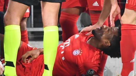 Coman verletzte sich gegen Tottenham Hotspur am linken Knie.