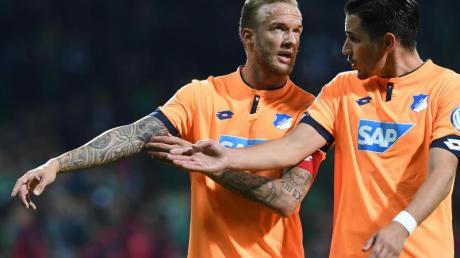 Hoffenheim kann wieder mit Kevin Vogt (l) und Benjamin Hübner planen.