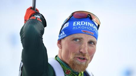 Ist mit Deutschlands Biathleten in Hochfilzen gefordert: Erik Lesser.