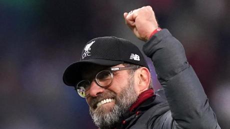 Trainer Jürgen Klopp verlängerte seinen Vertrag in Liverpool.