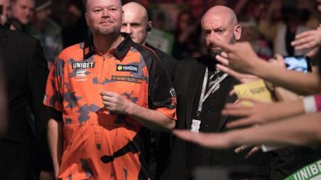 Geht zum letzten Mal bei einer Darts-WM an den Start: Raymond van Barneveld.