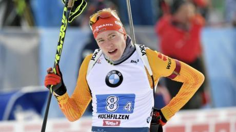 Konnte den Vorsprung nicht halten und musste sich beim Zielsprint geschlagen geben: Benedikt Doll.