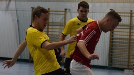 Ein Bruderduell gab es im Halbfinale zwischen Stefan Micheler (TSV Diedorf) und Alexander Micheler (SSV Anhausen).