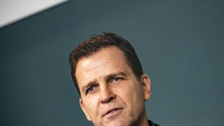 DFB-Direktor Oliver Bierhoff lobt die Zusammenarbeit mit dem neuen DFB-Präsidenten Fritz Keller.