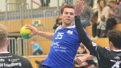 Bobingens Moritz Müller (am Ball) erzielte acht Treffer.