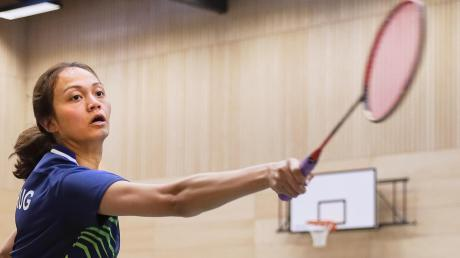 Sylvia Kumares kam, sah und siegte: Die Badminton-Spielerin aus Malaysia absolvierte bisher vier Spiele für den Post SV Augsburg.