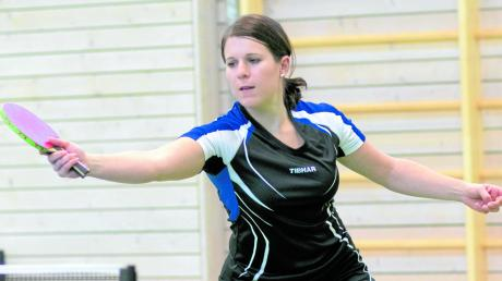 Kerstin Hofbaur verlor in den vergangenen drei Spielen für den SV Mindelzell keine einzige Partie.