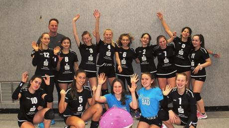 Die U16-Mannschaft der Lechrain Volleys belegten bei der Kreismeisterschaft den zweiten Platz.