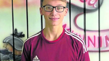 Jugendspieler Moritz Schwab erzielte sein erstes Ergebnis über 500 Holz.