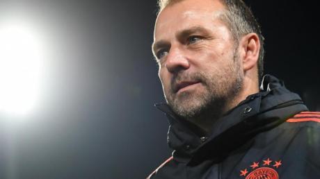 Hofft am Wochenende auf drei Punkte: Bayern-Trainer Hansi Flick.
