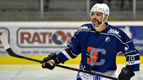 Adriano Carciola hat beim HC Landsberg verlängert.