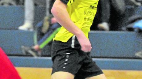Tim Wilde war mit dem TSV Gersthofen letztes Jahr noch in der Neusässer Halle am Ball. Nun soll er sein Debüt beim TSV Neusäß geben.