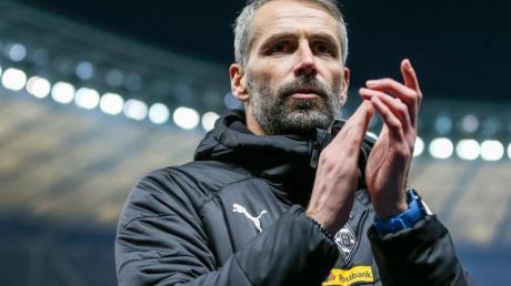 Freut sich über die Ausgeglichenheit der Bundesliga: Gladbach-Coach Marco Rose.