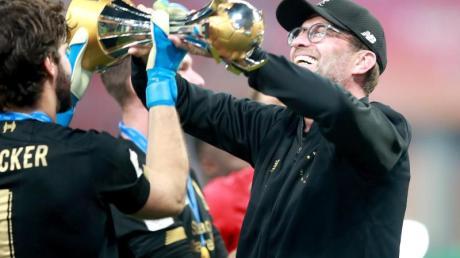 Nun auch Club-Weltmeister mit Liverpool: Coach Jürgen Klopp.