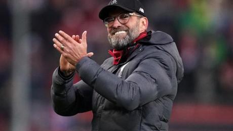 Liverpools Trainer Jürgen Klopp muss am Boxing Day mit seinem Team in Leicester antreten.