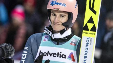 Deutschlands derzeit bester Skispringer: Karl Geiger.