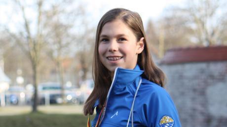 Hannah Dempfle aus Wiedergeltingen hat in diesem Jahr so hart trainiert, wie noch nie zuvor. Der Lohn der zahllosen Trainingsstunden war vor wenigen Tagen die Goldmedaille bei der Deutschen Eiskunstlauf-Nachwuchsmeisterschaft.