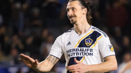 Zlatan Ibrahimovic war zuletzt für LA Galaxy aktiv.