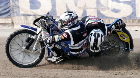 Mit Markus Brandhofer (links) feierte Beifahrer Tim Scheunemann Erfolge. Im Herbst hat der Haunstetter seine aktive Speedway-Karriere beendet.