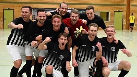 Futsal ist klasse: Die SpVgg Wiesenbach qualifizierte sich in Ichenhausen.